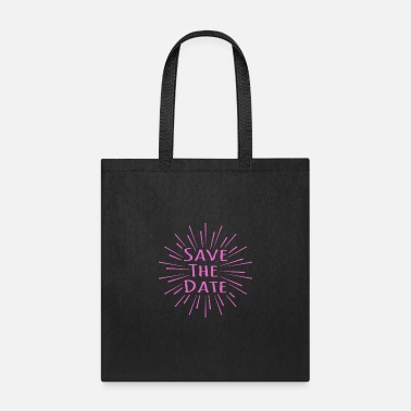 Date Save the date - Tote Bag