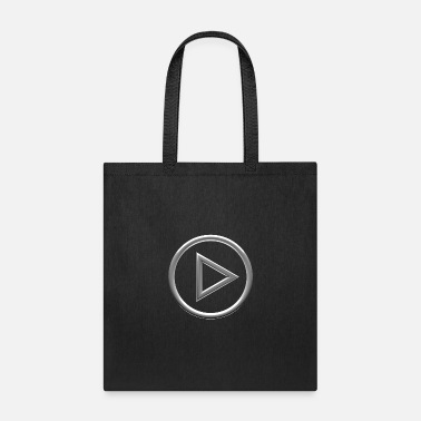 Audio Play Button - Tote Bag