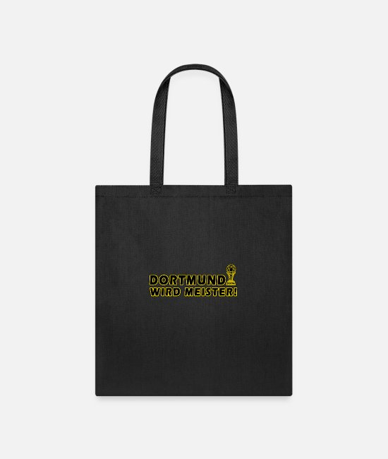 Soccer Bags & Backpacks - Dortmund wird meister - Tote Bag black