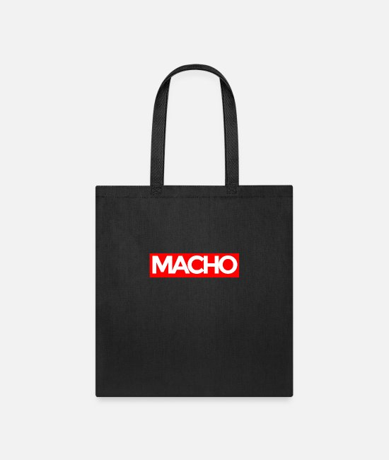 Statement Bags & Backpacks - Macho - Tote Bag black