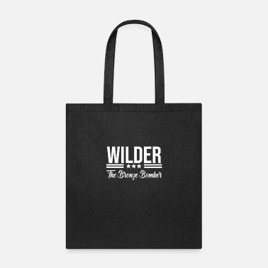 Wilderness Wilder The Bronze Bomber - Tote Bag