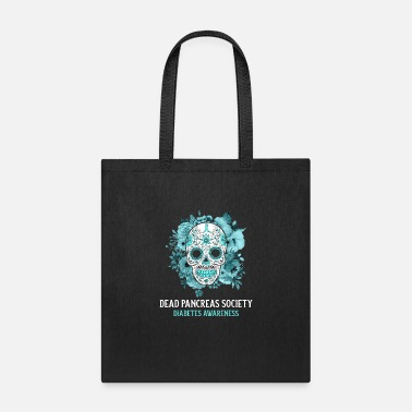 Cold Diabetes Awareness funny Dead Pancreas Society - Tote Bag