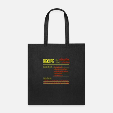 Recipe Recipe for Disaster - Tote Bag