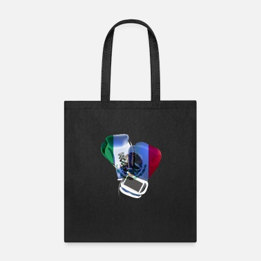 Knock Out Mexico Mexican Boxer Boxing Sports T-shirts - Tote Bag