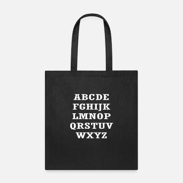 Abbreviation alphabetical abbreviations - Tote Bag