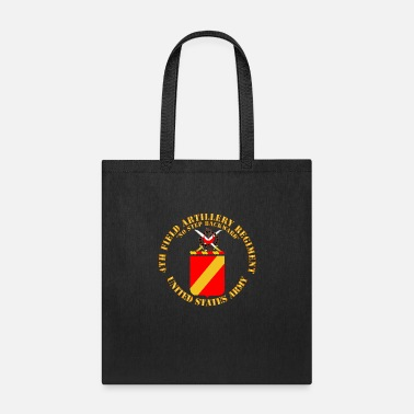 Army COA 4th Field Artillery Regiment - Tote Bag