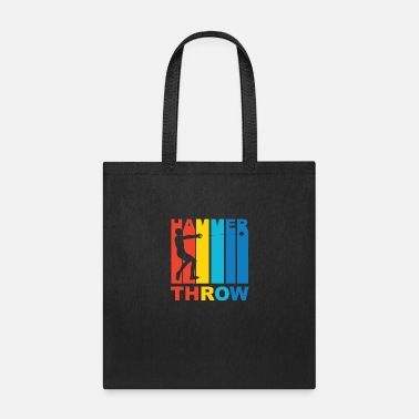 Hammer Vintage Hammer Throw Graphic - Tote Bag