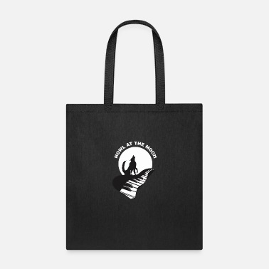 Howl Howl At The Moon - Tote Bag
