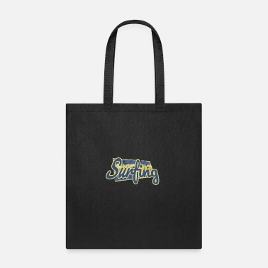 Surfing Sport Fun - Tote Bag