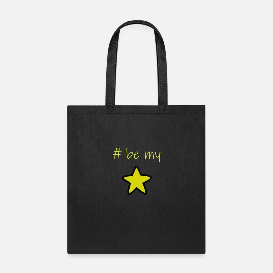 Sweetheart Bags & Backpacks - Be my Star - Tote Bag black