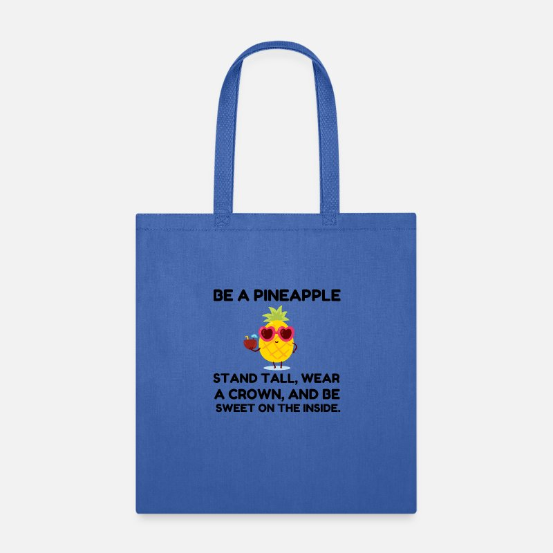 Training BE A PINEAPPLE STAND TALL WEAR A CROWN Drawstring Sack Bag