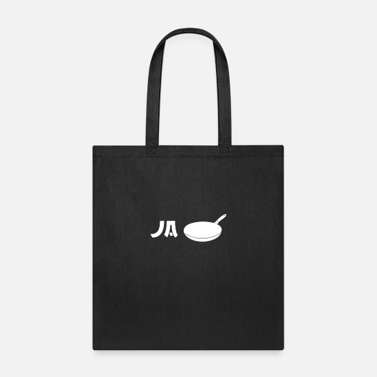 Gift Idea Bags & Backpacks - Ja Pan - Tote Bag black