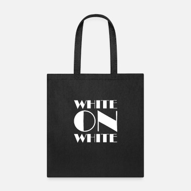 White White On White - Tote Bag