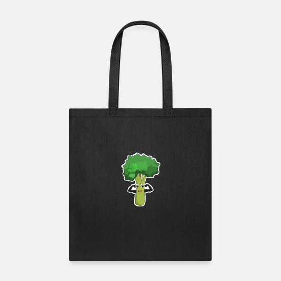 Cabbage Bags & Backpacks - Go Vegan - Tote Bag black