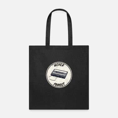 Casette Never forget - Tote Bag