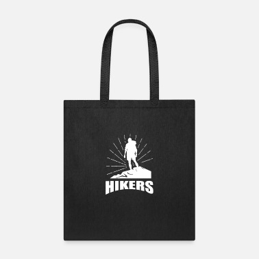 Vector Hikers vector - Tote Bag