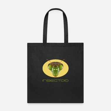 Insectoid Mantis praying mantis Polygon children - Tote Bag