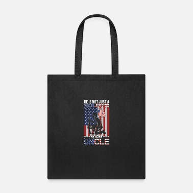 Soldier Of Fortune He is not just a soldier he is my uncle - Tote Bag
