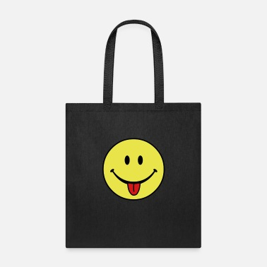 Stick smiley - Tote Bag