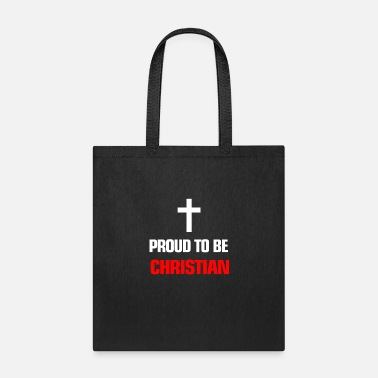 Some Proud be Christian Inspirational Quote with Text - Tote Bag