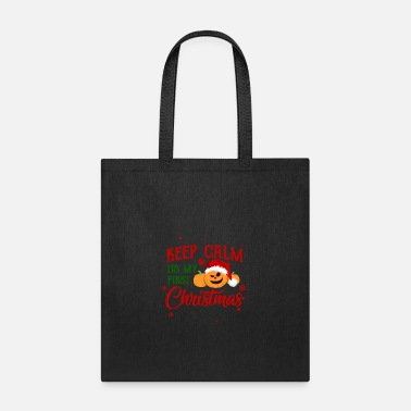 Pumpkin Pumpkin first Christmas - Tote Bag