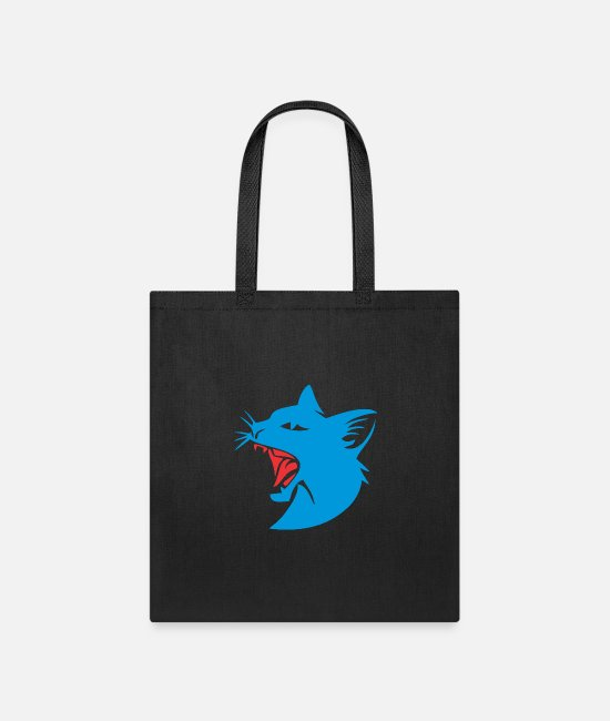 Catcher Bags & Backpacks - grumpy cat - Tote Bag black
