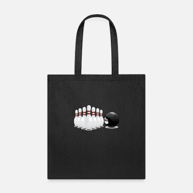Bowling League Bowling - Sports - Athlete - League Team - Tote Bag