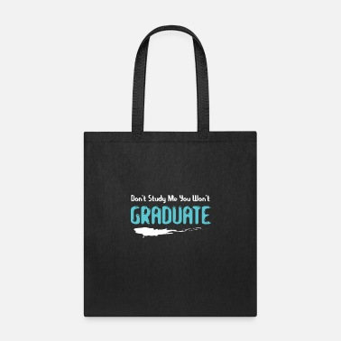 Attitude Attitude text - Don't study me - Tote Bag