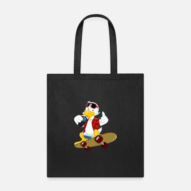 Duck reacting duck - Tote Bag