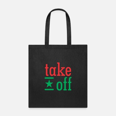 Take-off-plane take off - Tote Bag