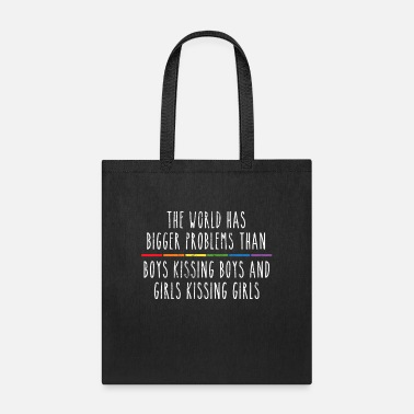 Rainbow Lgbt Wave LGBT Support Straight Gay Pride Ally Rainbow Gift - Tote Bag