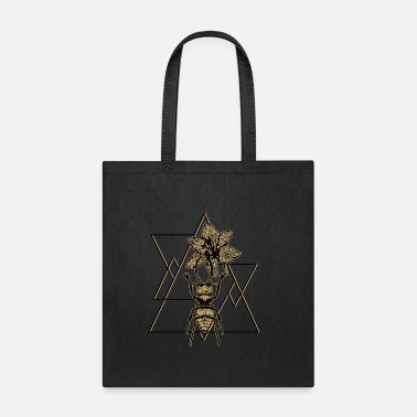 Insect insect geometry art beetle triangle - Tote Bag