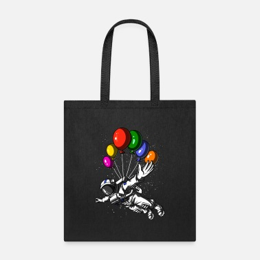 Planet Space Astronauts Balloons Galaxy - Tote Bag