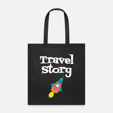 Sarcastic Travel Story - Tote Bag