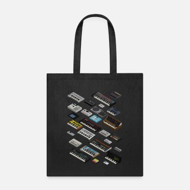 Synthesizer and Drum machine fan - Tote Bag