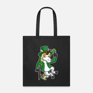 Magic Lucky Irish Unicorn Leprechaun St Patricks Day - Tote Bag