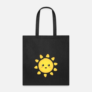 Happiness cute and happy sunshine - Tote Bag