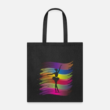 Dancer Ballet Dancer Colorful - Tote Bag