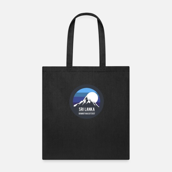 Gift Idea Bags & Backpacks - sri lanka - Tote Bag black