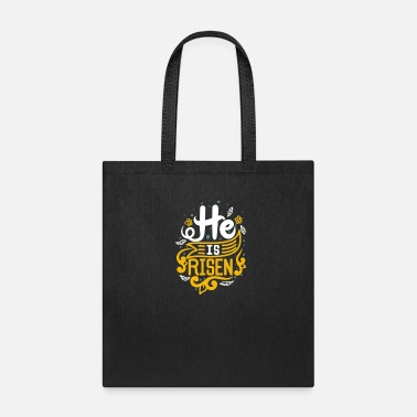 Retro He Is Risen - Tote Bag