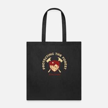 Parkour Environment Forest - Tote Bag