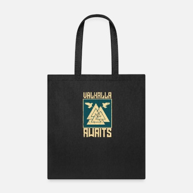 Raider Vikings Awaits Gift - Tote Bag