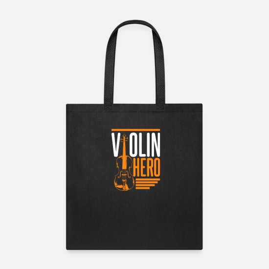 Gift Idea Bags & Backpacks - Violin - Tote Bag black