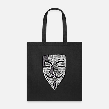 Anonymous Anon Effect Mask - Tote Bag