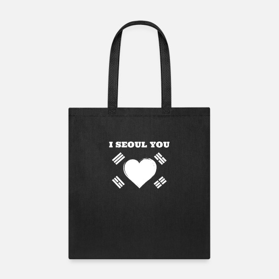 Love Bags & Backpacks - I Seoul you - Tote Bag black