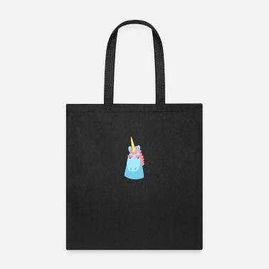 Unicorn character faces - Tote Bag