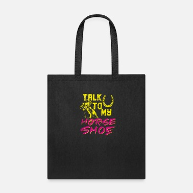 Wild Horse Horse horseshoe gift idea - Tote Bag