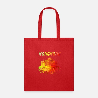 East Hong Kong Skyline / Gift Far East China - Tote Bag