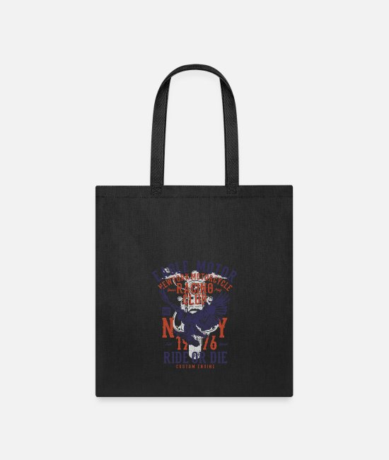 Motor Boat Bags & Backpacks - Eagle Motor - Tote Bag black