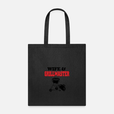 Grillmaster Wife and grillmaster - Tote Bag